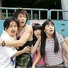 Tsung Sheng Tang, Ariel Lin, Petty Yang, and Jiro Wang in E zuo ju zhi wen (2005)