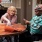 Christine Ebersole and Shola Adewusi in Bob Hearts Abishola (2019)