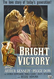 Bright Victory (1951) Poster - Movie Forum, Cast, Reviews