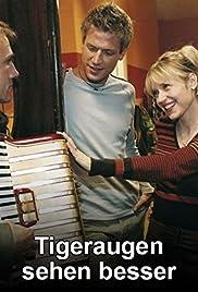 Tigeraugen sehen besser Poster
