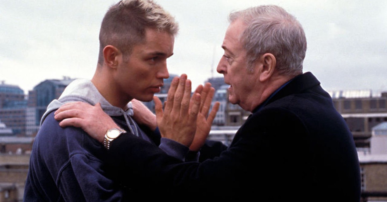Michael Caine and Matthew Marsden in Shiner (2000)