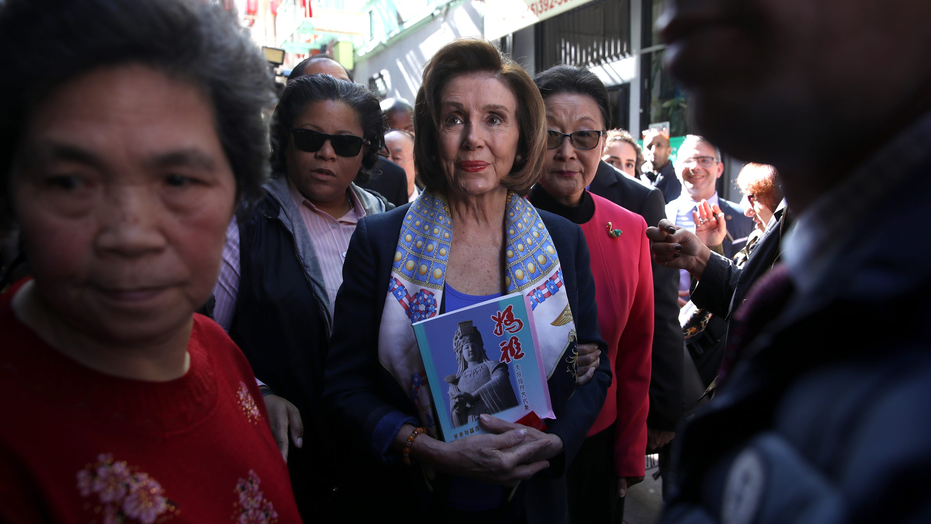 Nancy Pelosi in Salty Cracker (2015)