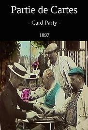Partie de cartes Poster