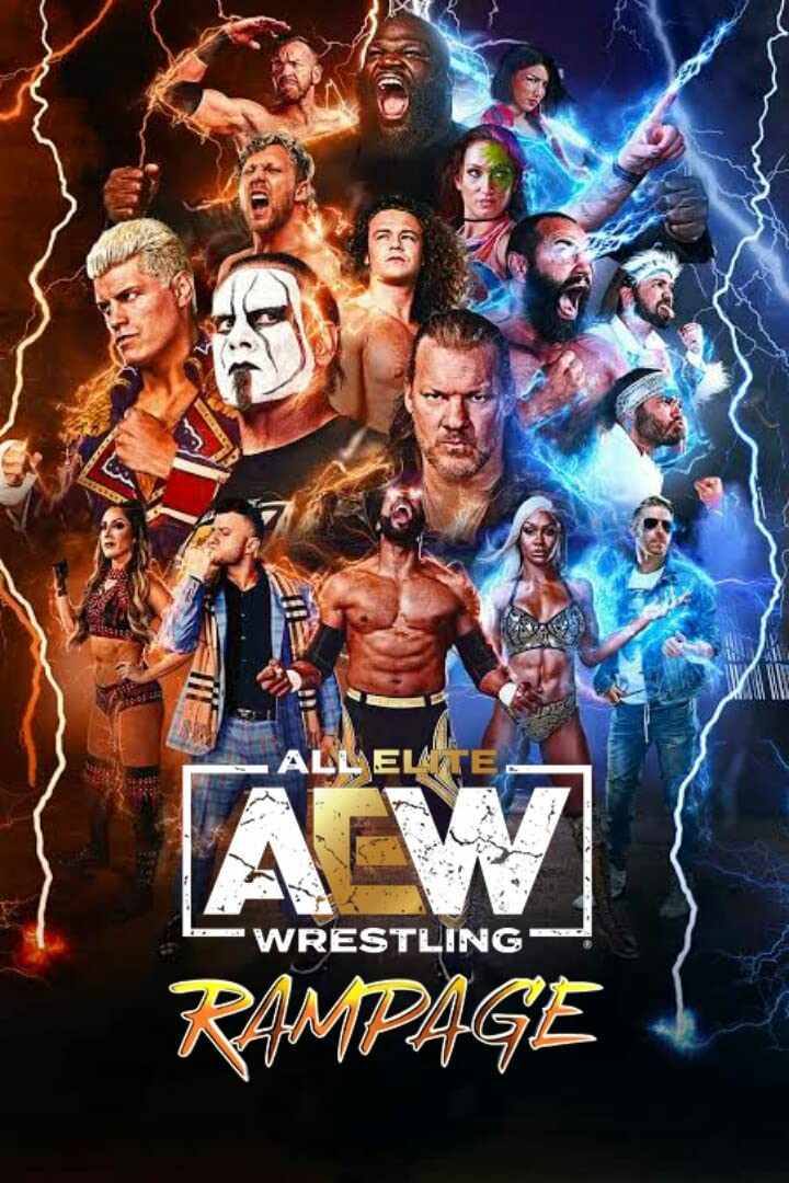 AEW Rampage (20th August 2021) English HDRip 350MB Download