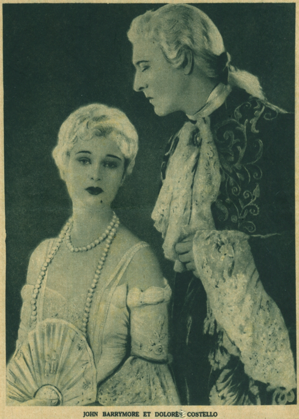 John Barrymore and Dolores Costello in When a Man Loves (1927)