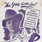 Hugh Beaumont, Richard Keene, George Meeker, Lyle Talbot, and Cheryl Walker in Murder Is My Business (1946)