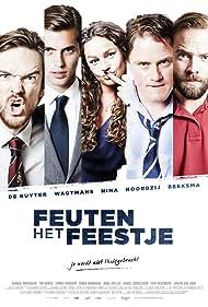 Manuel Broekman, Ruben Brinkman, Hanna Verboom, Tim Murck, and Anna Speller in Feuten: Het Feestje (2013)