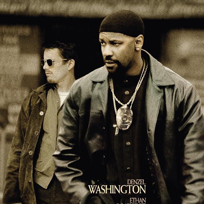 Ethan Hawke and Denzel Washington in Training Day (2001)