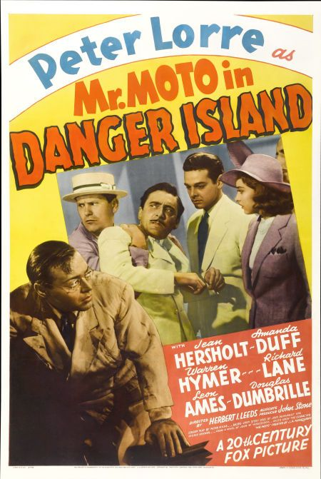 Peter Lorre, Leon Ames, Amanda Duff, Warren Hymer, and Robert Lowery in Mr. Moto in Danger Island (1939)