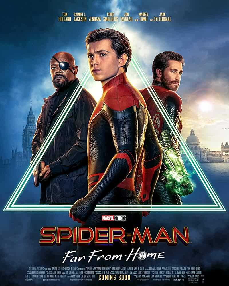 Spider Man: Far from Home 2019 720p Dual Audio HDRip x264 AAC ESubs 450MB