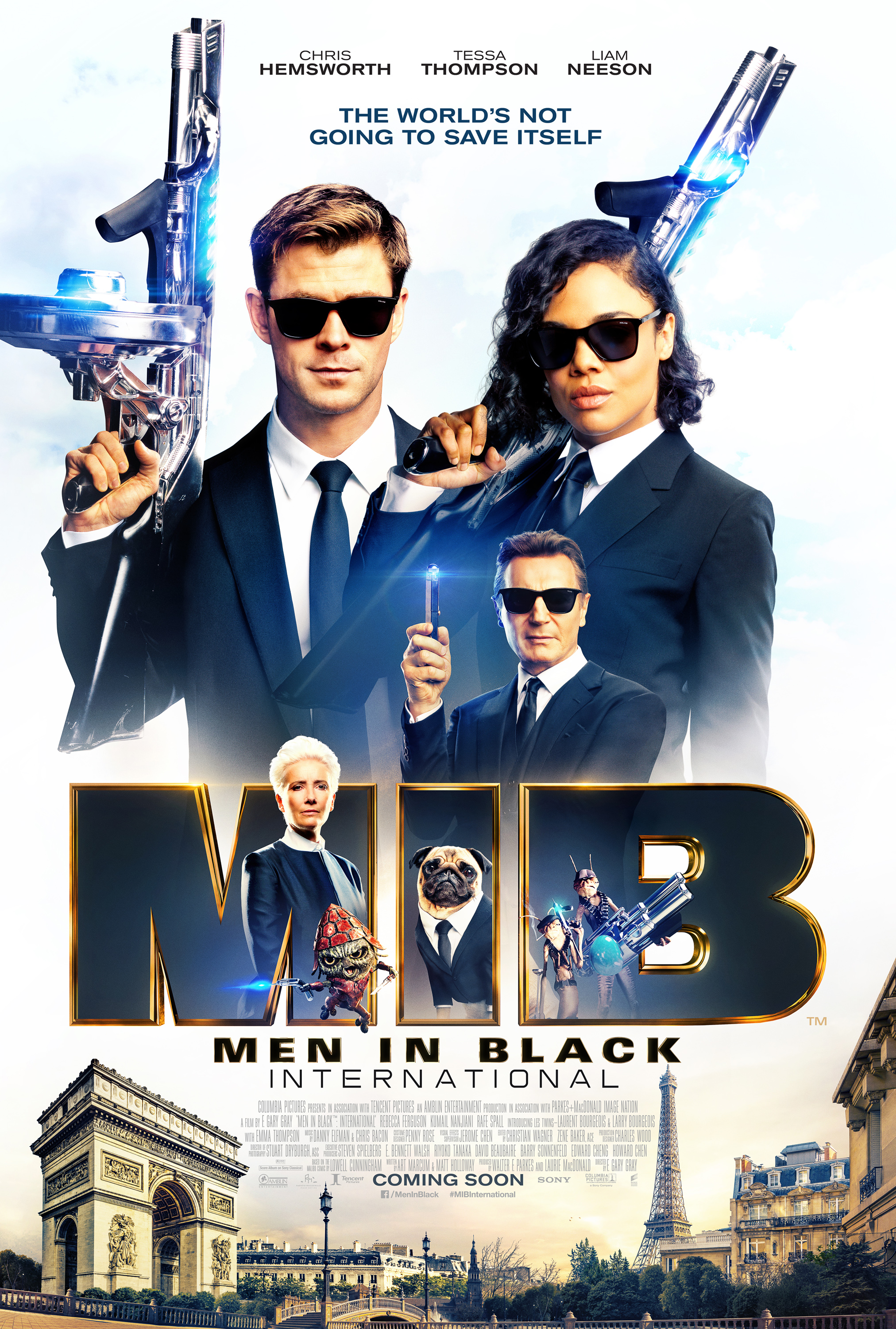 Poster film Men In Black: International.