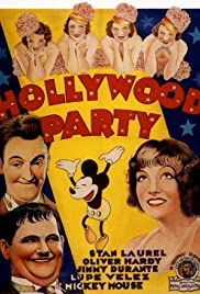 Hollywood Party (1934) Poster - Movie Forum, Cast, Reviews