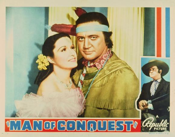 Richard Dix and Gail Patrick in Man of Conquest (1939)
