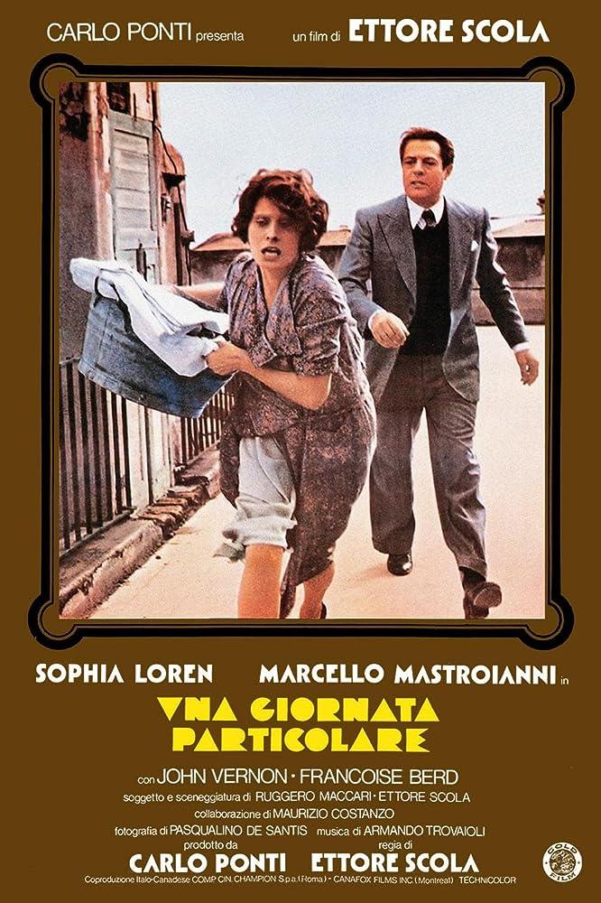 Sophia Loren and Marcello Mastroianni in Una giornata particolare (1977)