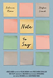 Note to Say Poster