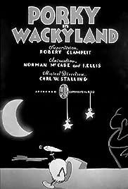 Porky in Wackyland Poster