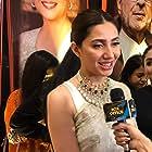 Mahira Khan at an event for Superstar (2019)