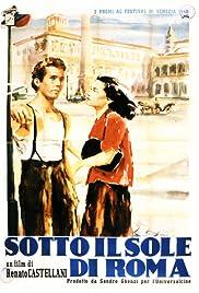 Sotto il sole di Roma Poster