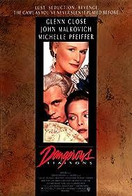 Michelle Pfeiffer, Glenn Close, and John Malkovich in Dangerous Liaisons (1988)