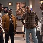 David Alan Grier, Lil Rel Howery, Jerrod Carmichael, and Grantham Coleman in The Carmichael Show (2015)