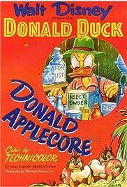 Donald Applecore Poster