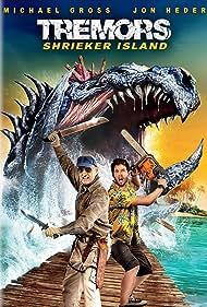 Michael Gross and Jon Heder in Tremors: Shrieker Island (2020)