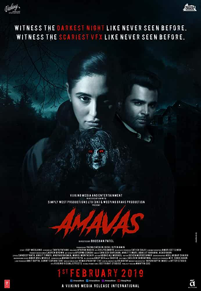 Amavas (2019) Hindi Movie PRE-DVDRip 720p 700MB Download