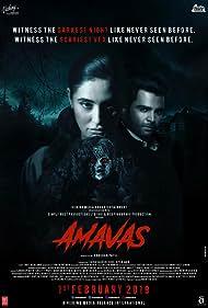 Nargis Fakhri and Sachiin Joshi in Amavas (2019)