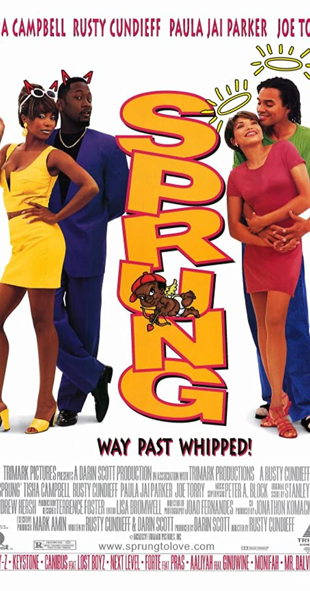 Tisha campbell nude scene in sprung
