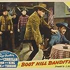 Ray Corrigan, Bert Dillard, Herman Hack, and I. Stanford Jolley in Boot Hill Bandits (1942)