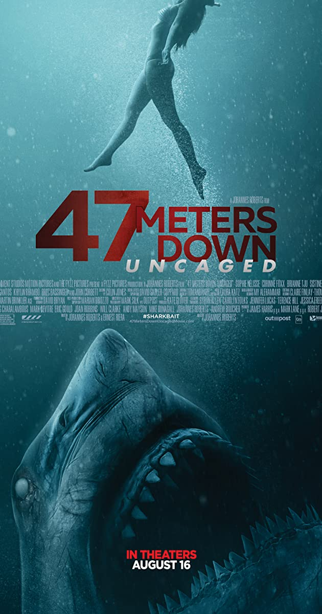 Subtitle of 47 Meters Down: Uncaged