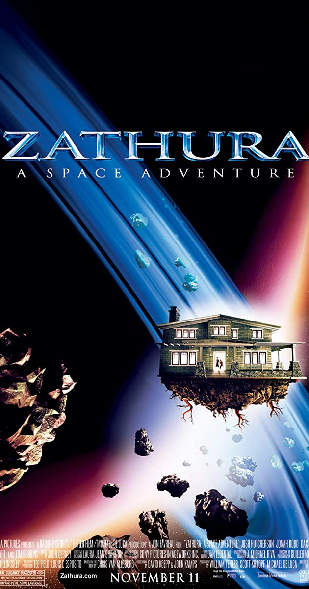 Subtitle of Zathura: A Space Adventure