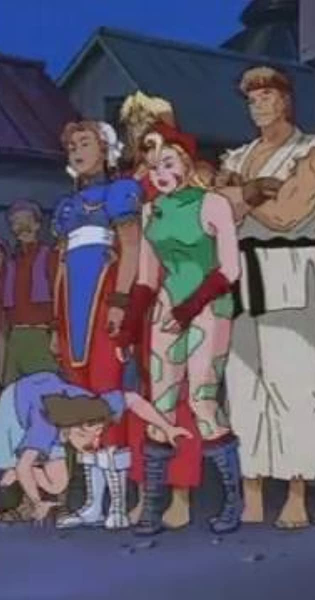 Street Fighter The Animated Series The Medium Is The Message Tv Episode 1995 Imdb