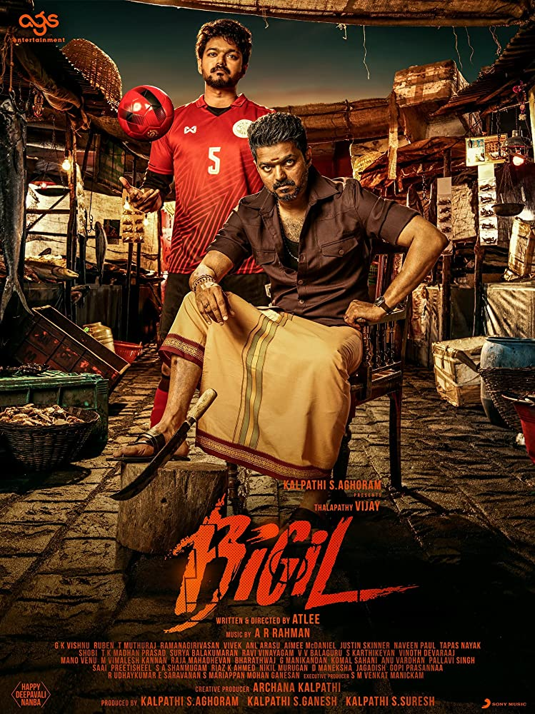 Bigil (2019) (Hindi-Urdu-Eng] Subtitles 720p HDRip [in Tamil] Download