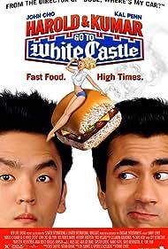John Cho and Kal Penn in Harold & Kumar Go to White Castle (2004)