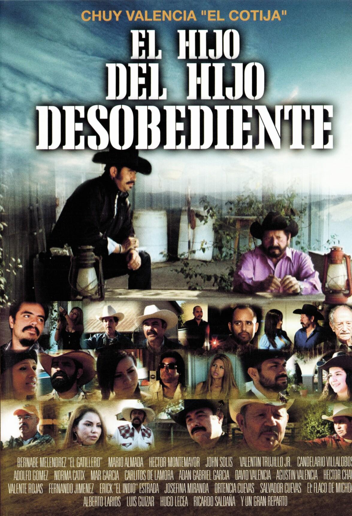 Mario Almada, Bernabé Melendrez, Hector Montemayor, Valentin Trujillo Jr., John Solis, and Chuy Valencia El Cotija in El Hijo Del Hijo Desobediente (2014)