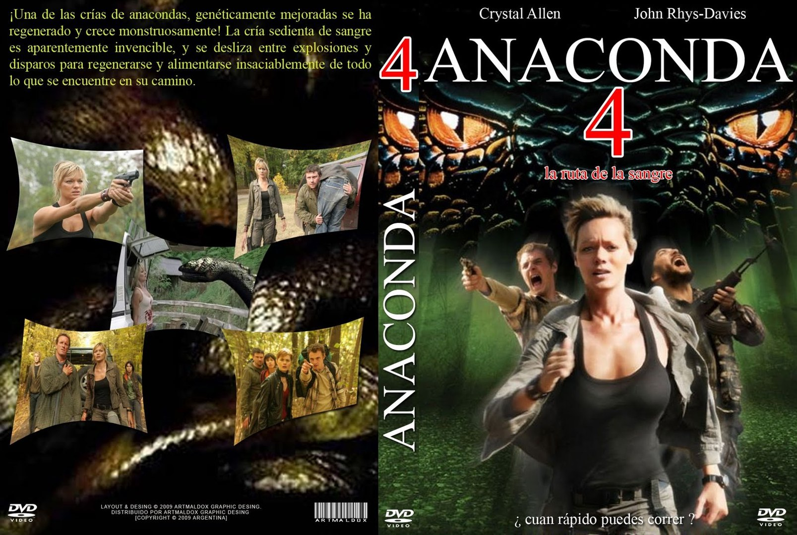 anaconda 4 trail of blood download
