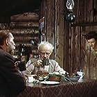 Leonid Bykov, Rolan Bykov, and Sergey Filippov in Ostorozhno, babushka! (1961)
