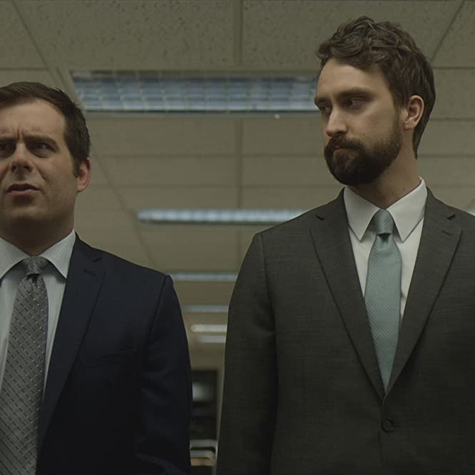 Matt Ingebretson and Jake Weisman in Corporate (2018)