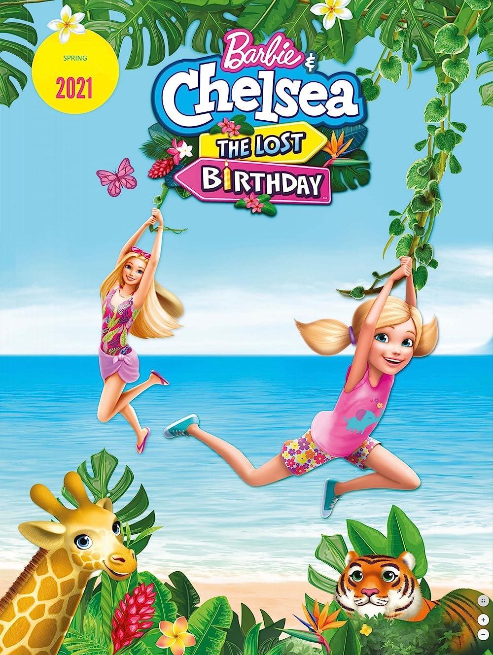 Barbie & Chelsea the Lost Birthday 2021 Hindi ORG Dual Audio 480p NF HDRip MSub 215MB Download