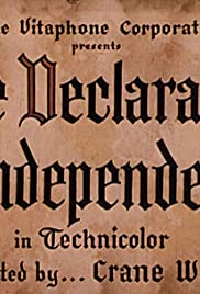 The Declaration of Independence (1938) Poster - Movie Forum, Cast, Reviews
