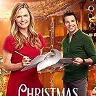 Brennan Elliott and Maggie Lawson in Christmas Encore (2017)