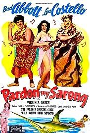 Pardon My Sarong Poster