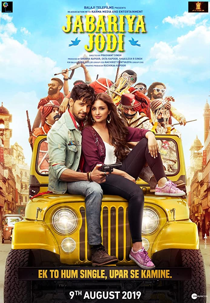 Jabariya Jodi (2019) Hindi WEB-DL – DD2.0 – [1080p – 2.1GB | 720p – 1.8GB | 720p – x264 – 1.3GB | 700MB – 400MB]