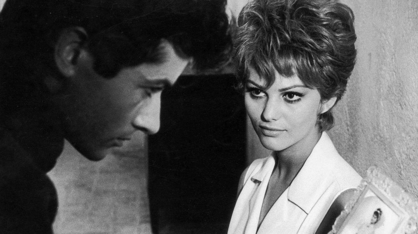 Claudia Cardinale and George Chakiris in La ragazza di Bube (1964)