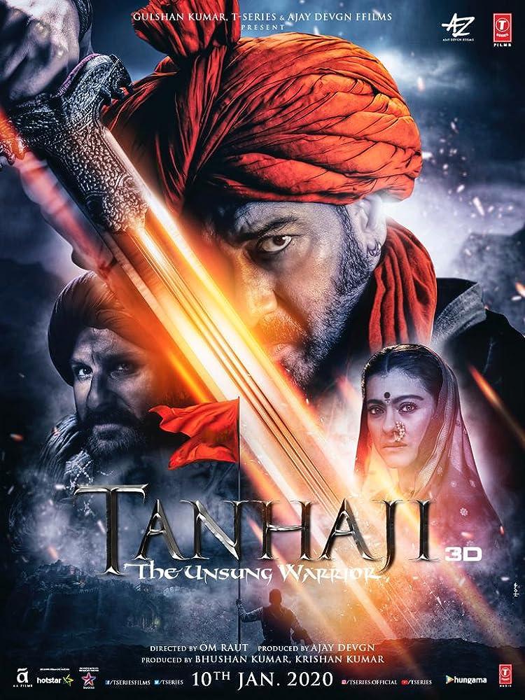 Tanhaji- The Unsung Warrior 2020 Marathi +Hindi 720p WEB-DL