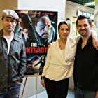 """Brad Rowe, Christina Cox and Sean Robert Olson at """"The Contractor"""" premiere"""