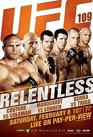 UFC 109: Relentless Poster