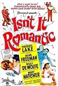 Veronica Lake, Billy De Wolfe, Mona Freeman, Mary Hatcher, Patric Knowles, and Richard Webb in Isn't It Romantic (1948)