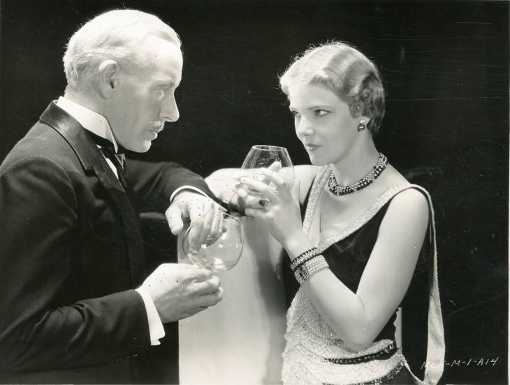 Elissa Landi and Lewis Stone in Always Goodbye (1931)